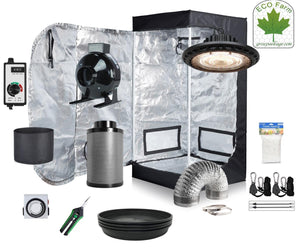 Eco Farm 1,3*1,3 Fuß (16*16*48 Zoll) DIY Grow-Paket