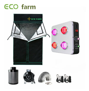 Eco Farm 3'*3' Essential LED Growpaket für 2 Pflanzen-GS400