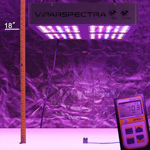 VIPARSPECTRA Dimmbarer Reflektor Serie DS600 600W LED-Pflanzenlampe / Growlampe