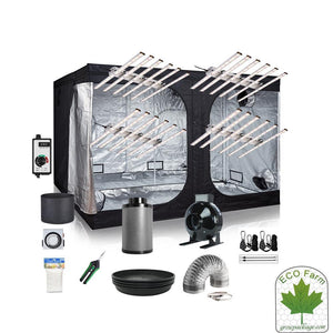 Eco Farm 8*8 Fuß (96*96*80 Zoll) DIY Grow-Paket