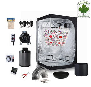 Eco Farm 5*5 Fuß (60*60*80 Zoll) DIY Grow-Paket