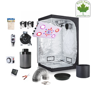 Eco Farm 4*4 Fuß (48*48*80 Zoll) DIY Grow-Paket