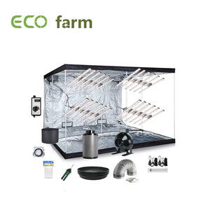 Eco Farm 10*10 Fuß (120*120*80 Zoll) DIY Grow-Paket