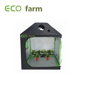 Eco Farm 4*4 Fuß (48*48*72 Zoll) Growzelte - Dach-Stil