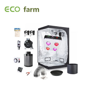 Eco Farm 4*2 Fuß (48*24*80 Zoll) DIY Grow-Paket