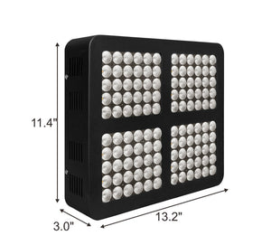 TopoLite 60X60X80 LED Growzelt Kit