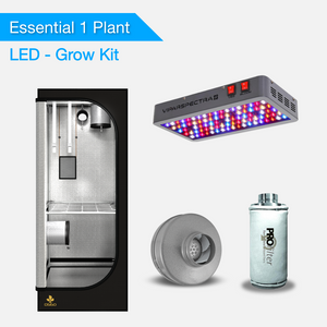 Essential 1 Pflanze Growsets - LED Pflanzenlampen / Growlampen