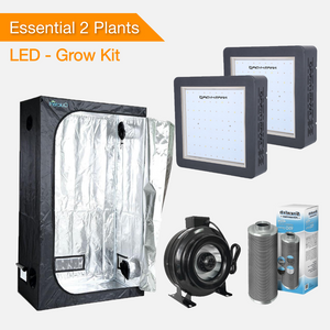 Essential 2 Pflanzen Growsets - LED Pflanzenlampen / Growlampen