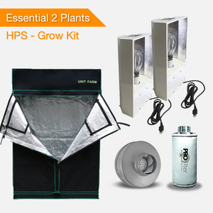 Essentials 2 Pflanzen Growset - HPS