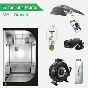 Essentials 4 Pflanzen Growset - HPS