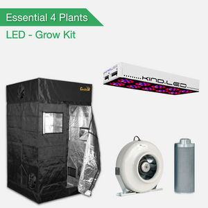 Essentials 4 Pflanzen Growset - LED
