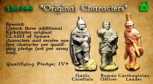 Individual Characters ( set #2 Roman,Carthaginian or Gallic )