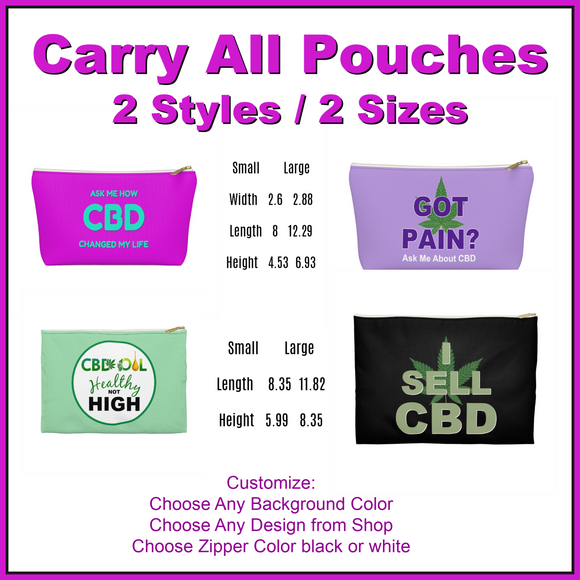 Carry-All Pouches, Purses, Wallets