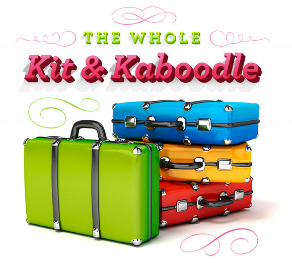 The Whole Kit and Kaboodle - Everything but the Kitchen Sink