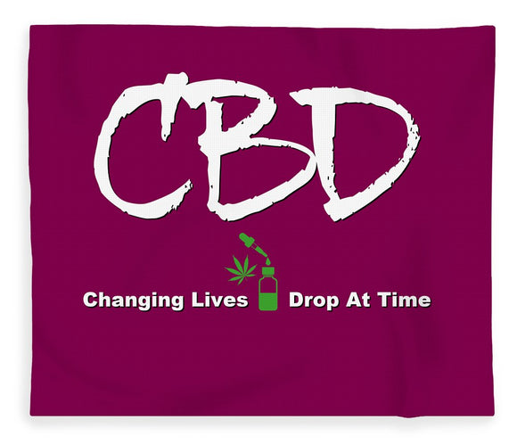 CBD Changing Lives One Drop At A Time - Blanket