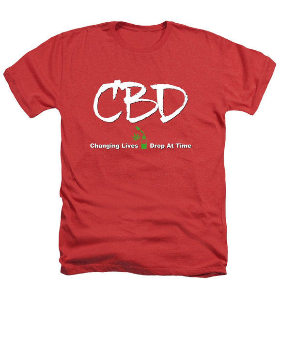 CBD Changing Lives One Drop At A Time - Heathers T-Shirt