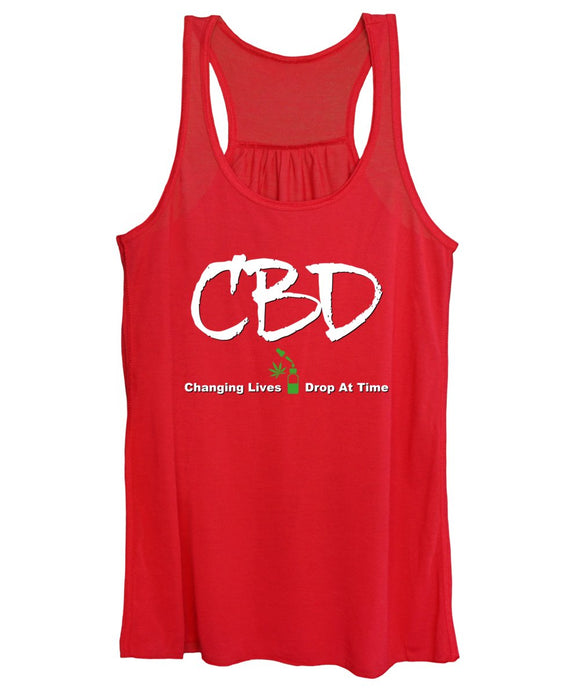 CBD Changing Lives One Drop At A Time - Women's Tank Top