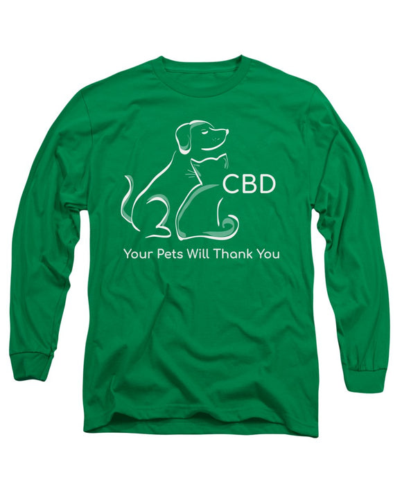 CBD Your Pets Will Thank You - Long Sleeve T-Shirt