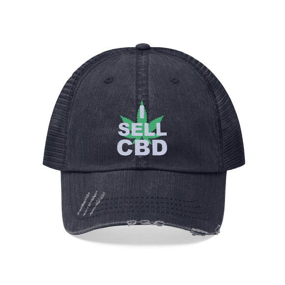 I Sell CBD Unisex Trucker Hat