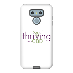Thriving With CBD Matte Finish Tough Phone Case