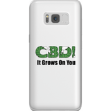 CBD It Grows On You Samsung Phone Cases