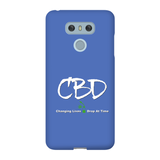 CBD, Changing Lives One Drop at a time LG Phone Cases