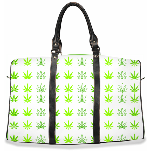 (Hemp Leaf) Travel Bag