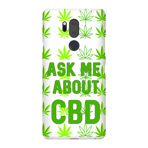 Ask Me About CBD (Hemp Leaf) Lg Phone Cases