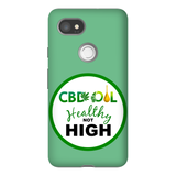 CBD, Healthy Not High Google Pixel Phone Cases