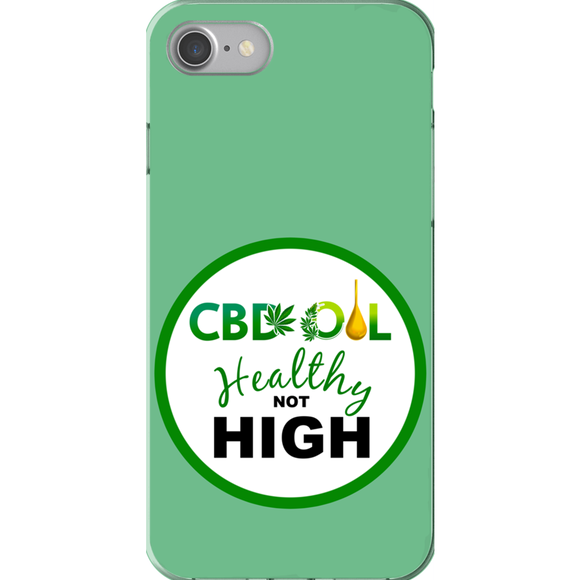 CBD Healthy Not High iPhone Phone Cases
