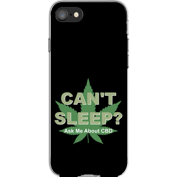 Can't Sleep? Ask Me About CBD iPhone Phone Cases