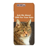 Ask Me About CBD For Your Pets Huawei Phone Cases