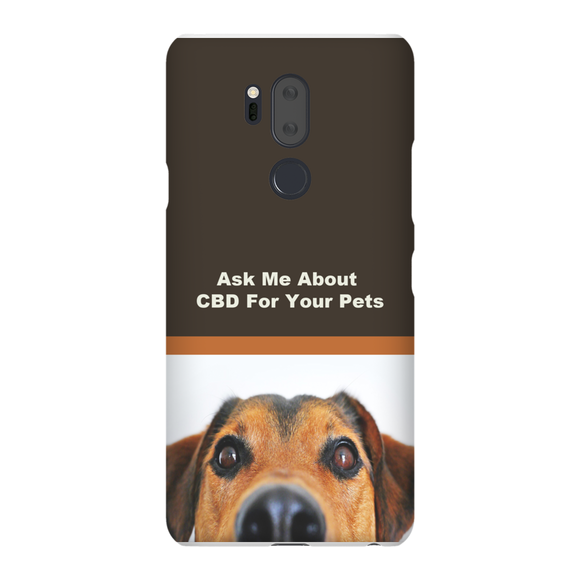 Ask Me About CBD For Your Pets LG Phone Cases