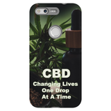 CBD Changing Lives One Drop At A Time Google Pixel Phone Cases