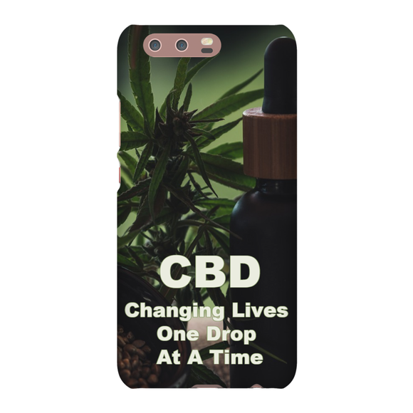 CBD Changing Lives One Drop At A Time Huawei Phone Cases