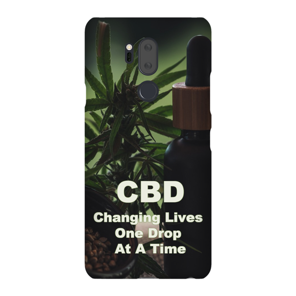 CBD Changing Lives One Drop At A Time LG Phone Cases