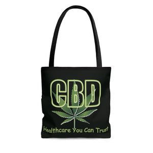 CBD, Healthcare You Can Trust -  2 Sided Tote Bag