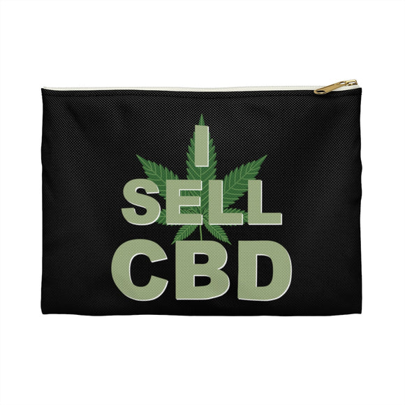 I Sell CBD Accessory Pouch