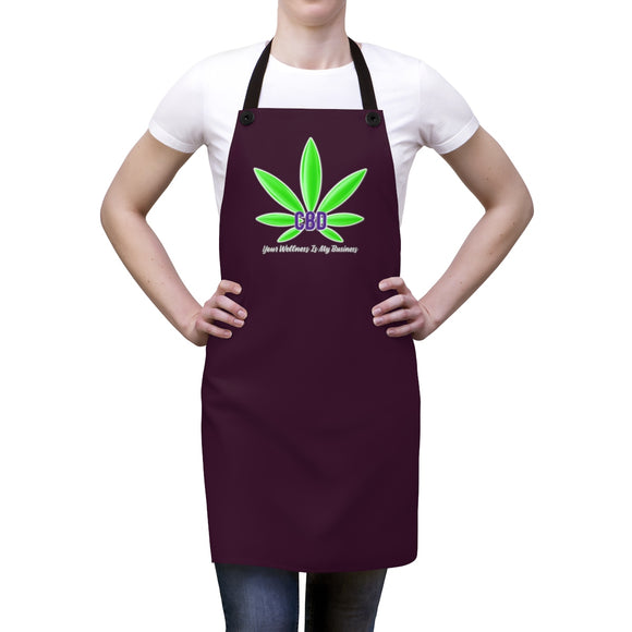 CBD, Your Wellness Is My Business   Apron