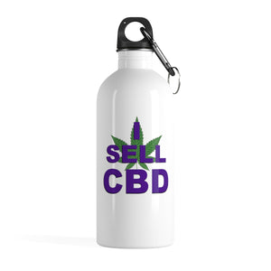 I Sell CBD II Stainless Steel Water Bottle