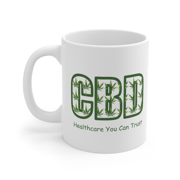 CBD, Healthcare You Can Trust  Ceramic Mug