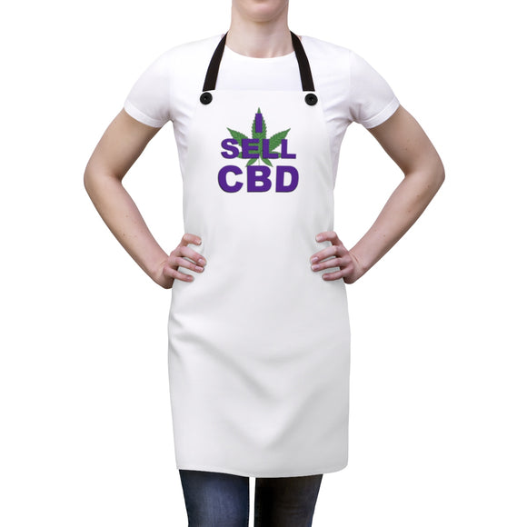 I Sell CBD Apron