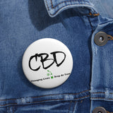 CBD, Changing Lives 1 Drop at a Time, II -  Pin Button