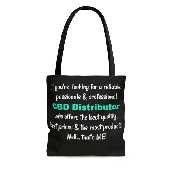 Passionate Distributor -  2 Sided Tote Bag