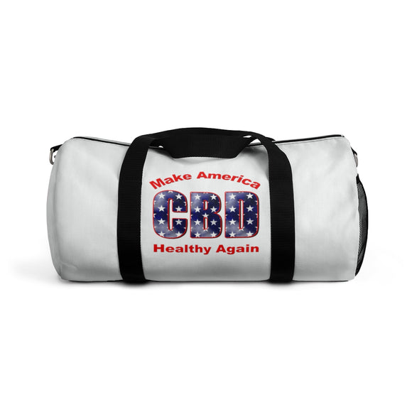 CBD Make America Healthy Again / CBD Distributor 4 sided print Duffel Bag