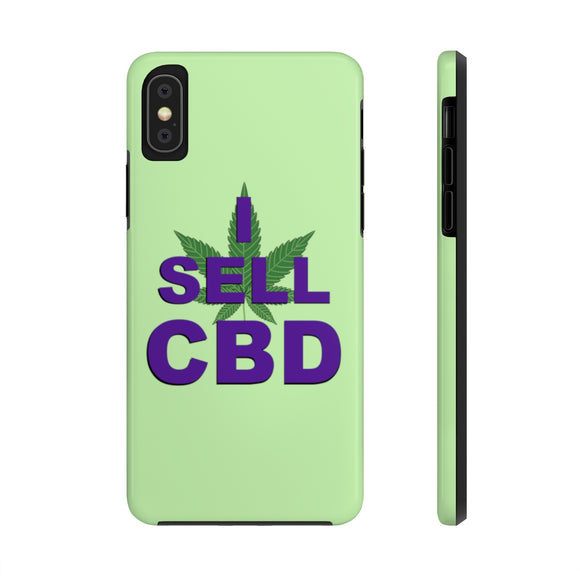 I Sell CBD  - Case Mate Tough Phone Cases