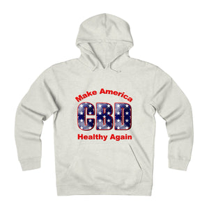 CBD Make America Healthy Again Unisex Heavyweight Fleece Hoodie (plus size up to 3x)