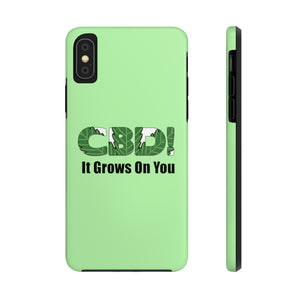 CBD, It Grows On You - Case Mate Tough Phone Cases