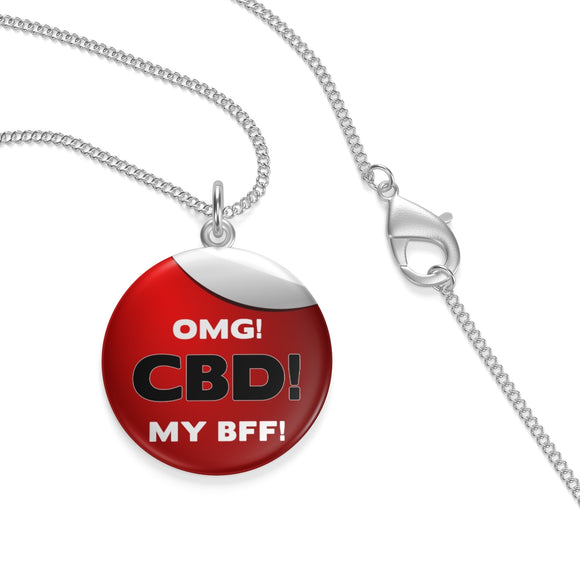 OMG CBD MY BFF Single Loop Necklace