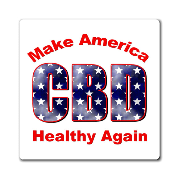 CBD Make America Healthy Again  Magnet
